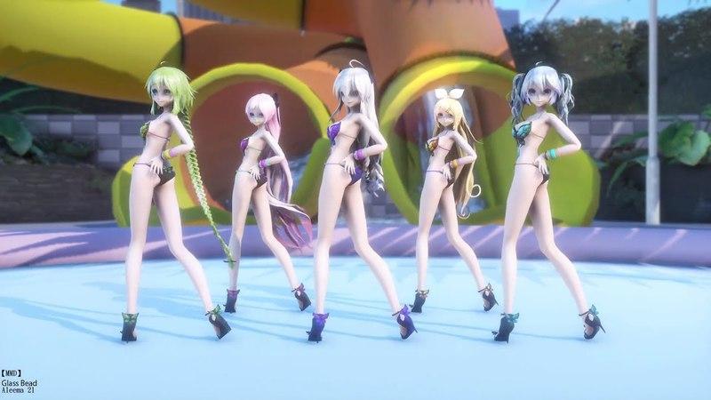 【MMD】【1080p60fps】GFRIEND - Glass Bead/여자친구-유리구슬【TDA Buttefly】【Gumi】【Haku】 【Luka】【Miku】【Rin1