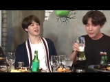 1 minute and 47 seconds of @BTS_twt drinking and enjoying themselves
