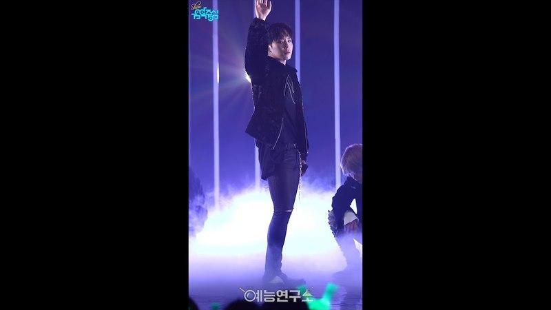 [예능연구소 직캠] 비에이피 핸즈 업 힘찬 Focused @쇼!음악중심_20171216 HANDS UP B.A.P HIMCHAN