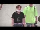 VK180817 MONSTA X fancam Kihyun focus @ Incheon Airport