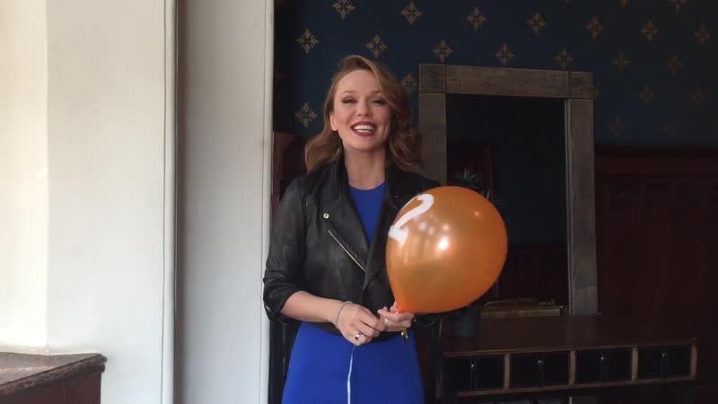 Валерий Меладзе и Альбина Джанабаева поздравляют МУЗ ТВ с днем рождения