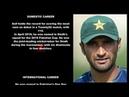 Pakistani Cricketer Bilal Asif Biography Detail