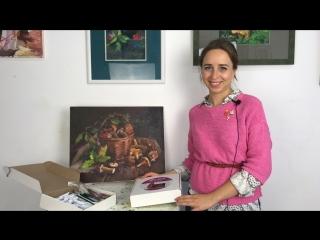 Коробочка Художника ART-BOX для масляной живописи. Юлия Фадюшина