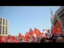 Шествие митинга КПРФ на Сахарова 22 сентября 2018 года