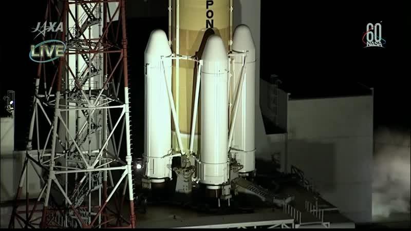Пуск и вывод на орбиту РН H-IIB с грузовым кораблём HTV-7