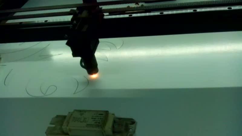 Лазерная резка пенокартона