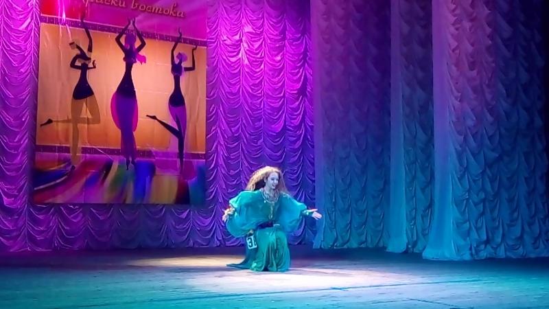 Рязанкина Александра танец Хашаба на фестивале Краски Востока 14.04.18