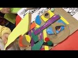 Бумагопластика Как сделать маску в этническом стиле с детьми How to make a mask in ethnic style