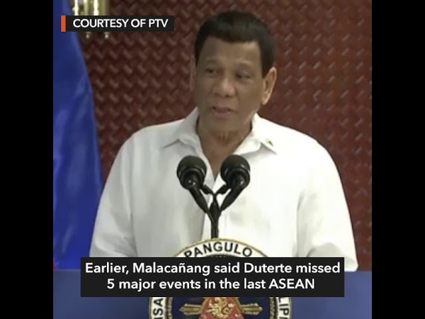 Duterte: I take marijuana to stay awake