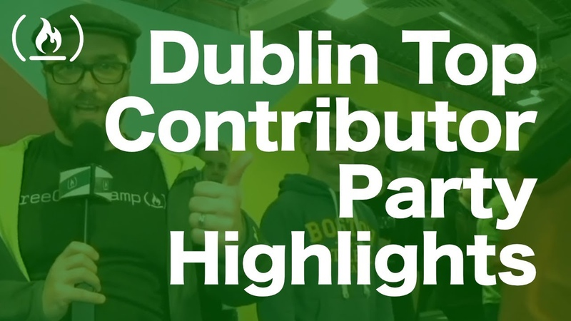 2018 Top Contributor Party in Dublin - Highlights and Interviews