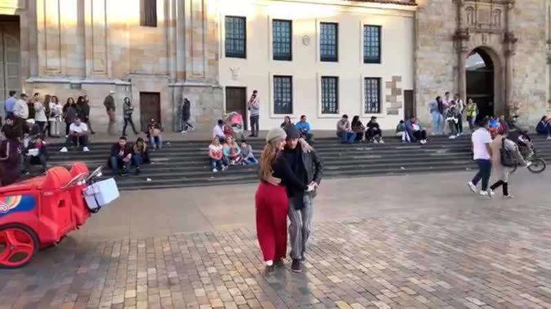Танго канженге Tango Canyengue |Marcio Carreiro Cheila Oliveira | Bogotá Colômbia