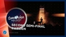 John Lundvik Too Late For Love Sweden LIVE Second Semi Final Eurovision 2019