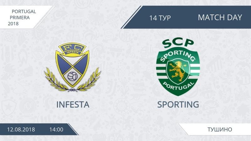 AFL18. Portugal. Primera. Day 16. Infesta - Sporting