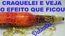 CRAQUELADO FICOU COM EFEITO JACARELADO