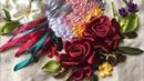 D.I.Y Ribbon Embroidery Bird / Hướng dẫn thêu ruy băng chú chim