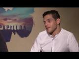 Papillon Charlie Hunnam and Rami Malek Interview