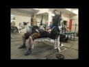 Ветеранский жим 2 100 кг на 71 раз