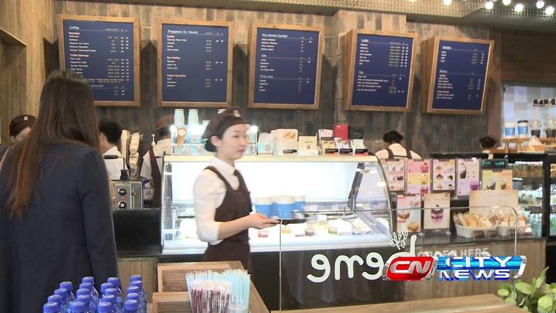 UBS City News Caffe Bene Mongolia Grand Opening, 30 окт. 2014 год