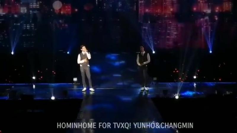 180817 I believe - TVXQ! Concert CIRCLE welcome in Bangkok - - 東方神起 동방신기 TVXQ MAX 최강창민 창민 심창민 CHANGMIN チャンミン 昌珉 정윤호 윤호 유노윤호 yunh