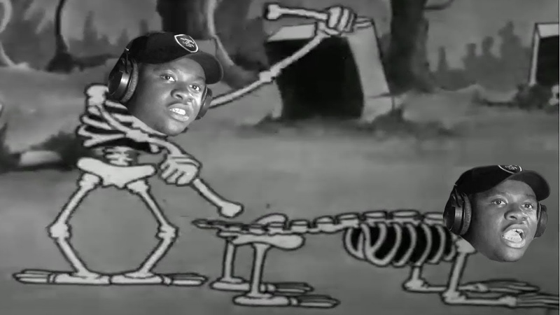 The Ting Go Spooky Scary Skeletons (Mans Not Spooky)