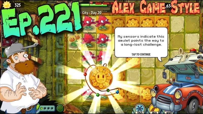 Plants vs. Zombies 2 || Unlocked Temple of Bloom - Lost City Day 20 (Ep.221)