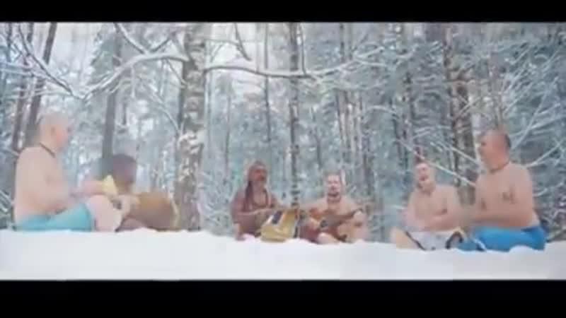 Kirtan in ice. Why not?) Киртан в снегу- почему бы и нет?) бхакти йога медитация harekrishna харекришна kirtan киртан ma