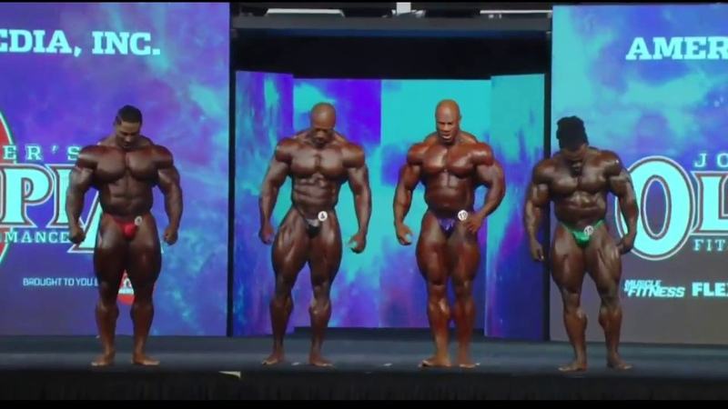 Roelly The Beast Winklaar In Last Call Out Mr. Olympia 2018 Prejudging
