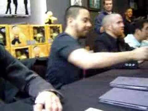 Linkin Park Mintues To Midnight Signing