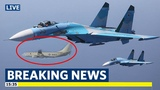 Russian Su-27 fighter jet intercepts US reconnaissance plane over Baltic Sea