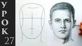 Как нарисовать голову и лицо человека. Техника построения Эндрю Лумиса.