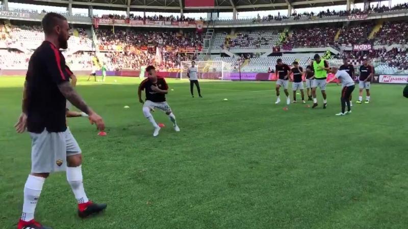 Рахминка игроков Ромы перед выездным матчем с Торино | 1 тур Серии А 18/19