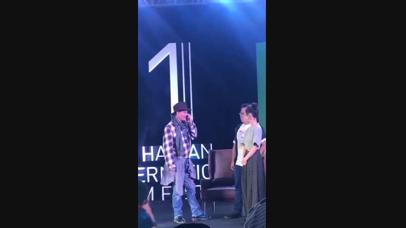Международный кинофестиваль, Хайнань, 15 дек. 2018