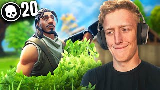 HIS FIRST VICTORY ROYALE ON FORTNITE
