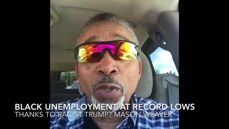 Record low black unemployment
