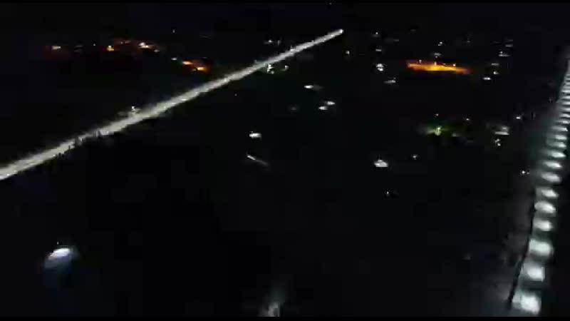 Ночные виды с высоты