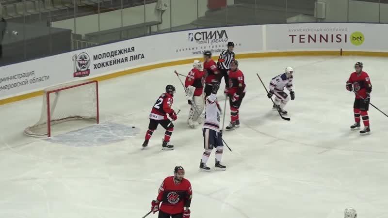 Металлург Новокузнецк Южный Урал Орск 4 3 ВХЛ Регулярный чемпионат 13 12 2018