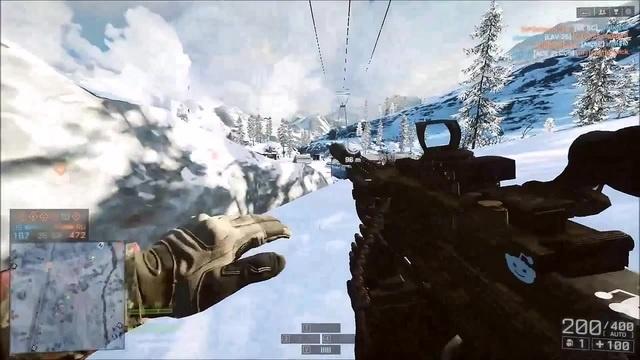 Battlefield 4 - Railgun madness