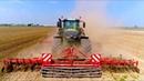 Preparing Seedbed FENDT 1050 Steketee Supersprint JD 6125R Seeding Maize Immink Amstelveen