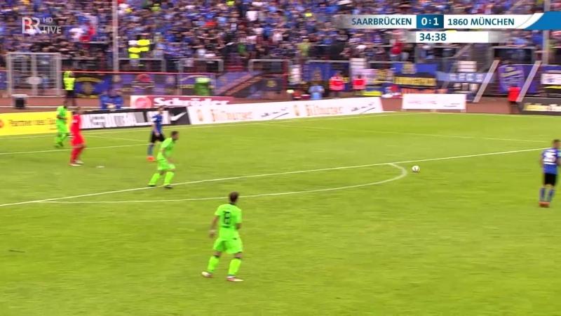 Саарбрюккен 2:3 Мюнхен 1860   Полный матч   24.05.2018