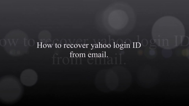 How to Recover Yahoo mail Account Yahoo account recovery
