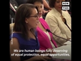 'We have waited a hundred years for this moment.' Activist and actress Alyssa Milano testified before Congress