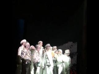 «Десятый батальон» Эра Зиганшина. «Оптимистическая трагедия. Прощальный бал». Александринский театр