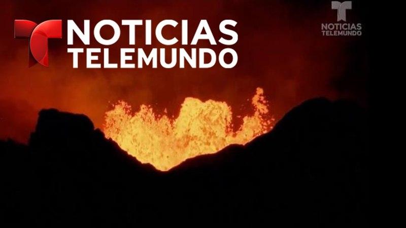 La erupción del volcán Kilauea provoca un nuevo fenómeno Noticias Telemundo