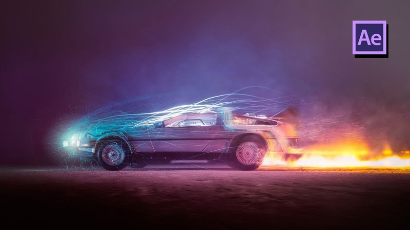 Back To The Future Teleport Effect in Adobe After Effects Tutorial