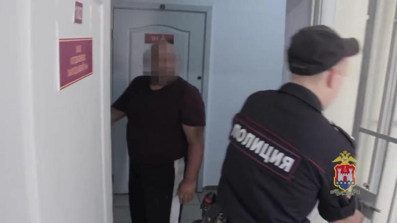 Полицейские задержали наркобарона в Калининграде