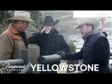 BTS Look at Yellowstone w Kevin Costner, Taylor Sheridan &amp More! Paramount Network