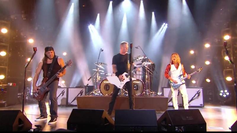 Metallica - Live at Studios Rive Gauche (France, Paris 2016)