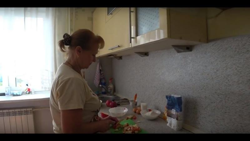 Едем в гости к родителям. Вкуснейшая шарлотка от мамы. 14.09.18.