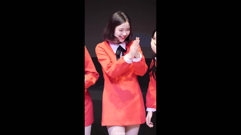 4K 60P 181202 버스터즈 Busters 채연 ChaeYeon 오프닝 토크 @ LOVELY PARTY 1회 직캠 Fancam by CY 041204