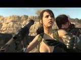 Metal Gear Solid 5 Phantom Pain - Quiet Speaks to Save Venom Snakes Life